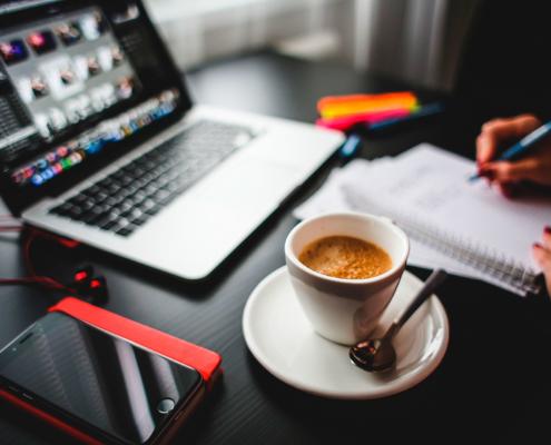iphone koffie